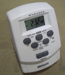 Woods digital timer info sciox Images